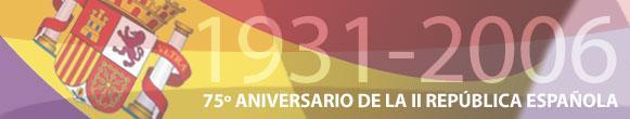 75º Aniversario de la II República Española.