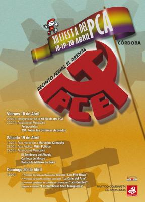 Fiesta del PCA