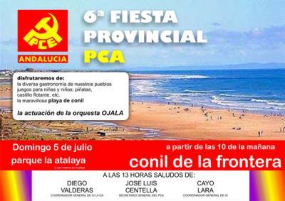 6ª Fiesta Provincial PCA